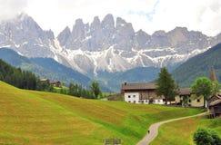 Изумительный ландшафт в итальянке Альпах Стоковое Изображение RF