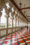 Изумительный балкон венецианской гостиницы Лас-Вегас - дворца дожей - ЛАС-ВЕГАС - НЕВАДА - 22-ое апреля 2017 Стоковое Фото