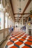 Изумительный балкон венецианской гостиницы Лас-Вегас - дворца дожей - ЛАС-ВЕГАС - НЕВАДА - 22-ое апреля 2017 Стоковые Изображения