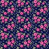 Изумительный безшовный цветочный узор Стоковое фото RF
