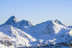 Изумительный высокогорный ландшафт стоковое изображение rf