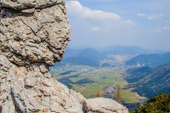 Изумительный высокогорный ландшафт стоковое изображение