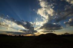 Изумительное облако Стоковое Изображение RF