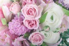 Изумительный конец расположения букета цветка вверх Стоковое Изображение RF