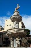 """Изумительный конец  """"Centaur†фонтана вверх по фото Сицилия Италия Стоковая Фотография"""