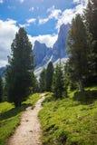 Изумительный доломит Альпы Стоковое Изображение RF