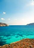 Изумительный пляж Gordo пеламиды Стоковая Фотография