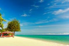 изумительный рай Таиланд шлюпки Стоковое фото RF