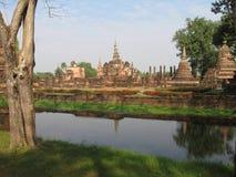 Изумительный древний город в Таиланде Стоковая Фотография