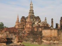Изумительный древний храм в Таиланде Стоковая Фотография RF