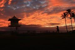 Изумительный цвет в небе Стоковое фото RF