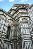 изумительн del базилики детализировало наземный ориентир maria florence fiore di экстерьера известный большинств ноча santa стоковые фото
