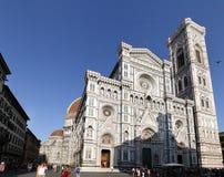 изумительн del базилики детализировало наземный ориентир maria florence fiore di экстерьера известный большинств ноча santa стоковая фотография rf
