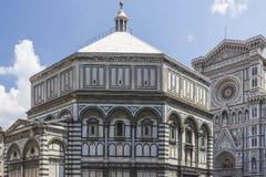изумительн del базилики детализировало наземный ориентир maria florence fiore di экстерьера известный большинств ноча santa стоковое изображение rf