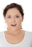 изумленная девушка предназначенная для подростков Стоковые Фотографии RF