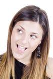 изумленная девушка счастливая Стоковое фото RF