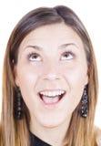 изумленная девушка счастливая Стоковое Изображение RF