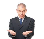 изумленный бизнесмен Стоковая Фотография