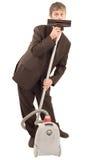 изумленный бизнесмен Стоковые Фото