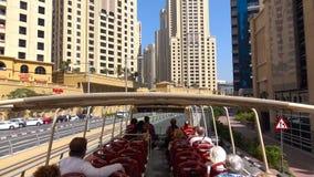 Изумляя взгляд на горизонте Дубай городском, Дубай, Объениненных Арабских Эмиратах 2018 стоковые фотографии rf