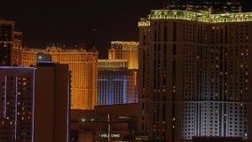 Изумляя Лас-Вегас к ноча - казино на прокладке - США 2017 видеоматериал