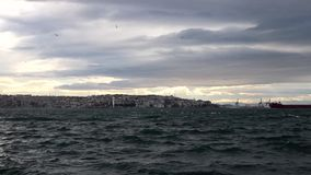 Изумляя море в Стамбуле акции видеоматериалы