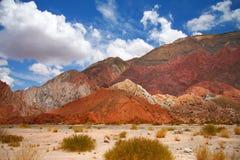 изумляя summe ландшафта Аргентины Стоковые Изображения