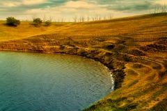 Изумрудное озеро Стоковые Изображения