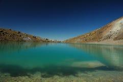 изумрудное озеро стоковая фотография