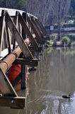 изумрудный парк озера, котор нужно посетить Стоковое Фото