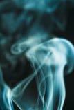 Изумрудная предпосылка дыма Стоковая Фотография RF