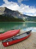изумрудное озеро Стоковые Фотографии RF