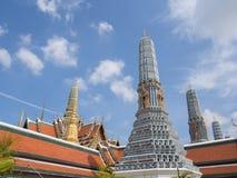 Изумрудный висок, Бангкок, Таиланд Стоковые Фото