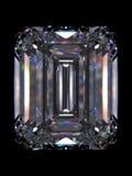 изумруд диаманта Стоковые Фото