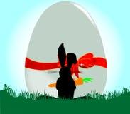 Изумленный кролик бесплатная иллюстрация
