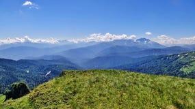 Изумляя Кавказ Стоковое Изображение