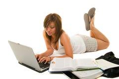 изучать девушки Стоковая Фотография RF