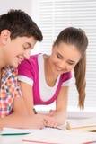 Изучать совместно. Стоковое Фото