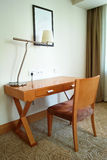 изучение стола стула Стоковые Фото