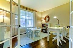 изучение школы комнаты малышей интерьера типа домашнее Стоковые Изображения