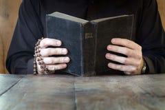 изучения библии Стоковые Фото