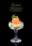 Изысканная еда Стоковые Изображения