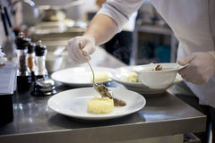 Изысканная кухня стоковое изображение