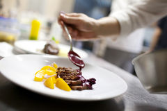 Изысканная кухня стоковое изображение rf