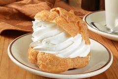 Изысканная cream слойка Стоковое Изображение RF
