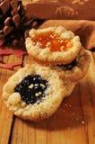 Изысканные печенья праздника Стоковое Фото