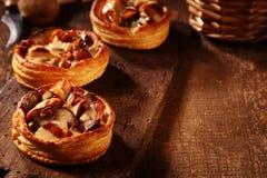 Изысканные свежие пироги гриба Стоковое Фото
