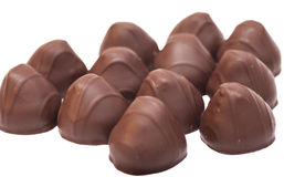 Изысканные bonbons шоколада Стоковая Фотография