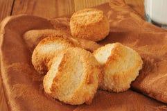 Изысканные macaroons кокоса Стоковое Изображение RF