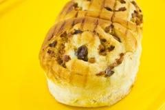 изюминка ветчины плюшки хлеба Стоковое Изображение